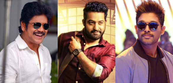 Tollywood hattrick Heroes..