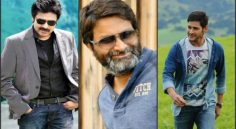 Trivikram with Mahesh, Pawan