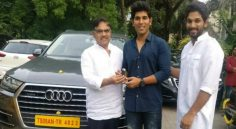Allu Aravind gifts Audi Q7 to Sirish