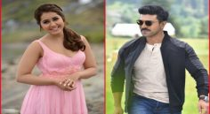 Rashi Khanna to act with Ramcharan?