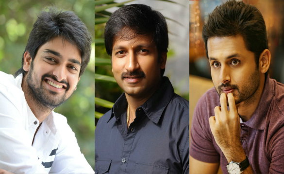 Radha Mohan with Naga sourya,Gopichand, Nithin…
