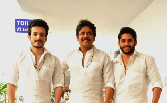 Akkineni family promotions..