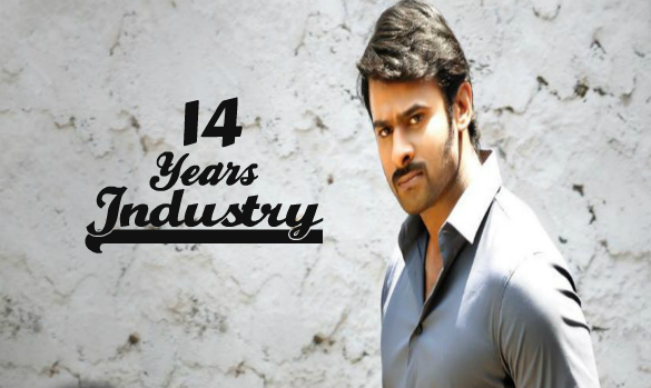 14 Years for Prabhas