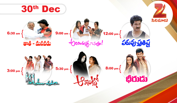 Zee Cinemalu (  December 30th )