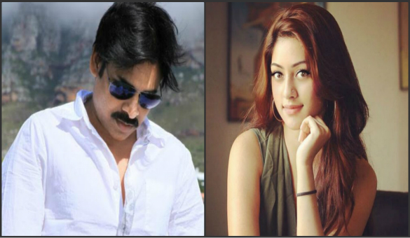 Majnu beauty to act with Pawan?