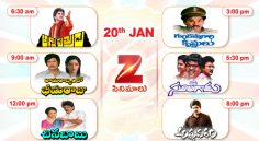 Zee Cinemalu ( January 20th)