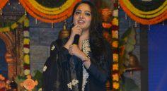 Anushka at Om Namo Venkatesaya Audio Launch