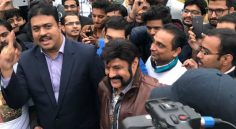 Balakrishna US tour Photos