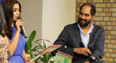 Krish, Shriya at HYD FaceBook Office
