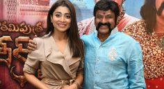Balakrishna Shriya Interview Stills