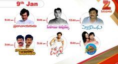 Zee Cinemalu ( January 9th)