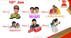 Zee Cinemalu ( January 10th)