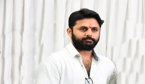 Nithiin New look….