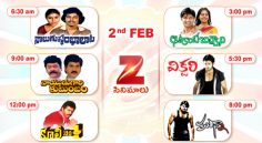Zee Cinemalu ( February 2nd)