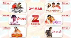 Zee Cinemalu (March 2nd)
