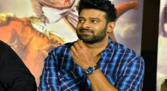 Prabhas at Baahubali-2 Trailer Launch