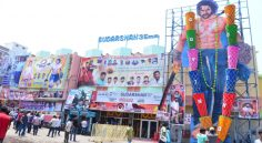 Baahubali-2 Hungama at Rtc X Roads