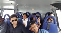 Mahesh Babu Team Lands in Chennai