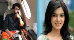 RamCharan, Samantha Song Shooting