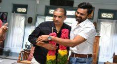 Supreme Hero Felicitates Dil Raju