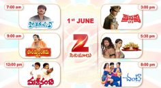 Zee Cinemalu (1st June)