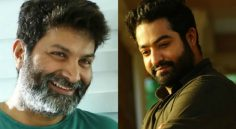 NTR-Trivikram On Political story ?