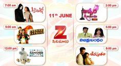 Zee Cinemalu ( 11th June)