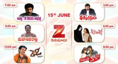 Zee Cinemalu (15th June)