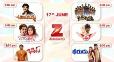 Zee Cinemalu (17th June)