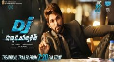 Allu Arjun's Dj Trailer will be out today