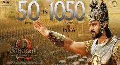 బాహుబలి-2.. 1050 తెరలపై 50 రోజులు