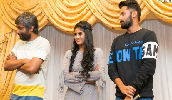 Megha Akash At Lie Movie Prerelease Function Beauties World