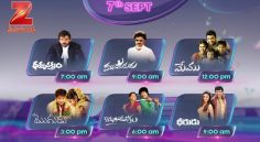 Zee Cinemalu (7th September)