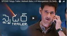 Mahesh Babu Spyder Trailer Review
