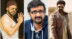Teja with Balakrishna and Venkatesh