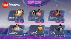 Zee Cinemalu (30th November)