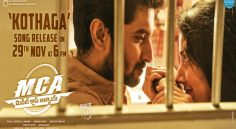 MCA Second Single 'Kothaga' Releases Tomorrow