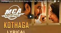 Nani MCA Second Single Is So Impressive