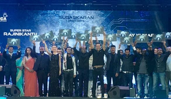జీ తెలుగులో 2.0 ఆడియో రిలీజ్ : ఎక్స్ క్లూజివ్