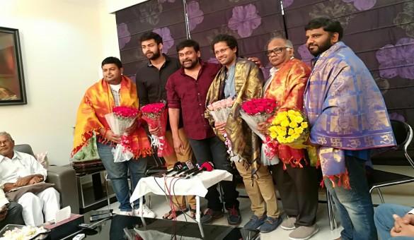 Megastar Chiranjeevi Felicitate Thioliprema Team For Its Grand Success