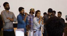 కిరాక్ పార్టీ సక్సెస్ సెలెబ్రేషన్స్ @ బ్రమరాంబ థియేటర్