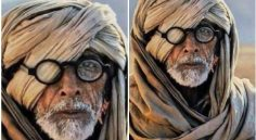Big B Amitabh Look from Thugs of Hindusthan Movie