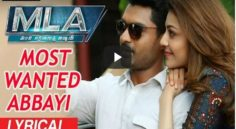 MLA Movie Song – Most Wanted Abbayi Lyrical