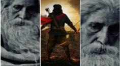 Big B Amitabh Bachchan Look in Chiranjeevi's SyeRaa Movie