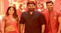 Megastar Visited NaPeruSurya Song Shoot