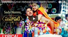 Keerthy Suresh 'Sada Nannu' Single Mesmerizes All Over