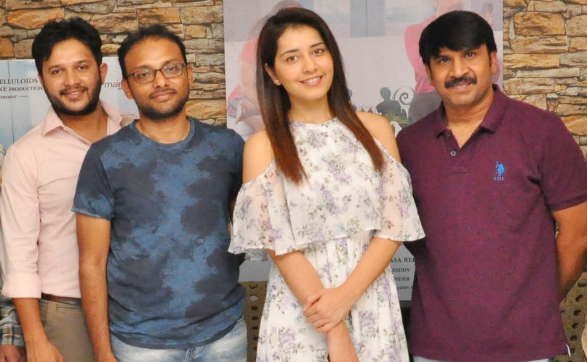 Raashi Khanna Launched 'JambaLakidiPamba' Song