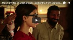 Making Video of 'Madhuravani' – Samantha from Mahanati Movie