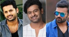Prabhas, Nithin, Sai Dharam Tej Movies Latest Shooting Updates