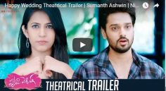 Happy Wedding Theatrical Trailer Released